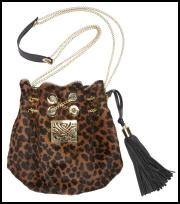 Animal Print Leopard Drawstring Bag for Winter 2011/12