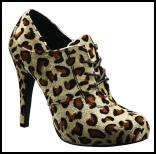 Leopard Print Shoe Boot for AW11/12