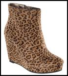 Animal Print Wedge Shoe Boot for AW11/12