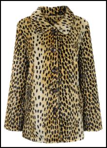Women's Faux Fur Print Fashion