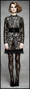 Marks & Spencer AW11 - Historical Romance Black Lace Dress.