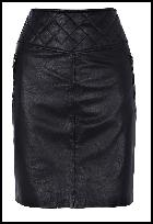 Oasis AW11 - Leather Skirt.