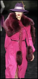 Pink Coat & Fur Accessories.