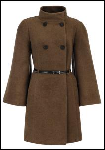 Ladies Brown Coat