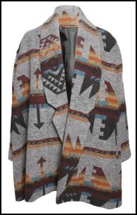 Grey Navaho Jacket.