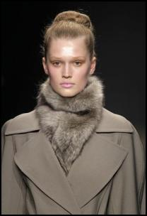Classic Topstitched Coat by Donna Karan.
