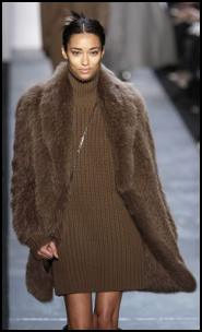 Cocoon Fur Coat.