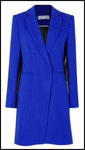 Electric Blue Coat - Wallis AW11.