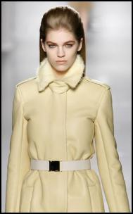 MaxMara Buttermilk Yellow Coat.