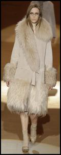 Alexander Wang AW11/12 - Fur Collar Coat