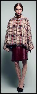 Tartan Cape Fashion Trend