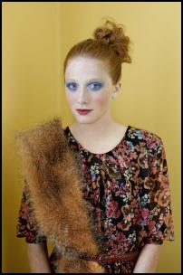 Miss Selfridge AW11 - Fur Tippet Throw.