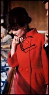 Audrey Hepburn - Red Givenchy Coat - 1961 Breakfast at Tiffanys