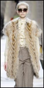 Ceam Fur Gilet by Fendi.