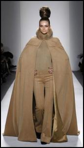 Floor Length Camel Cape Zang Toi AW11.
