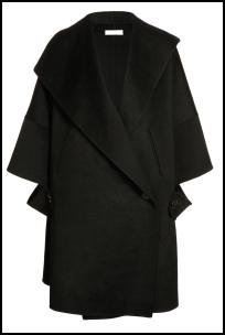 Nicole Farhi Double Draped 1920s Retro Fashion Coat AW11.
