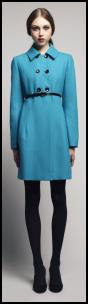 Turquoise Coat by Oasis.