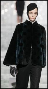 Marc Jacobs Fur Cape.