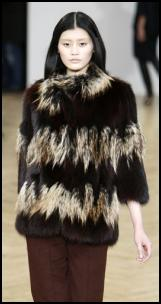 Tipped Fur Jacket.