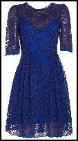 Fusion Monsoon/Accessorize Diadem Lace Dress.