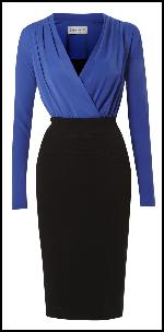 Antonio Cobalt Blue Dress �200 Mary Portas