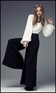 Primark Winter Campaign Limited - Black Palazzo Pants.