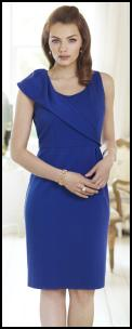 Minuet Petite Blue Evening Dress.