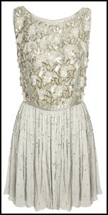 Asos Princess Beaded Sequin Dress.