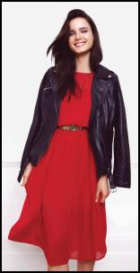 Warehouse AW11/12 Red Dress.