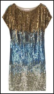 Matthew Williamson Sequin Embellished Mini Dress.