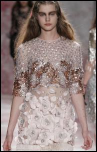 Prabal Gurung AW11 Swarovski Crystal Gemstone Beaded Dress.