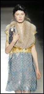 Prada Pailette Sequins In AW11 Womens Catwalk.