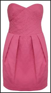 ASOS AW11 - Bustier Pink Mini Prom Dress.
