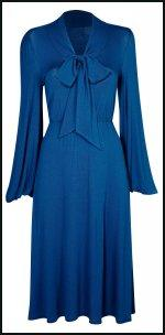 BHS Sophie Grey Collection - Blue Bow Dress.