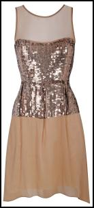 Sequin Dress Miss Selfridge �65.