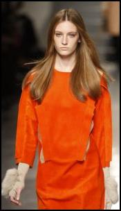Orange Catwalk Fashion - Aquascutum AW11 Womenswear.