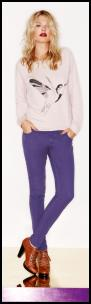Dorothy Perkins - Purple Jeans.