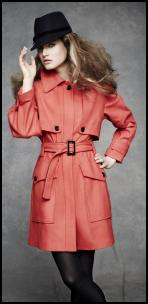 Marks & Spencer 60's Pop Coat.