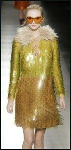 Golden Sequins From Prada.