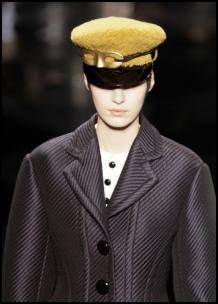 Louis Vuitton Yellow Gold Cap - Heritage Looks.