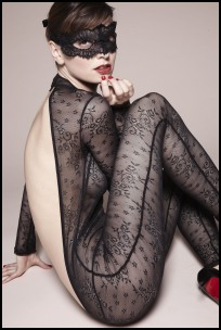 La Redoute Black Lace Body Stocking.