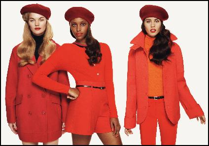 Benetton Orange Fashions Autumn 2011/2012