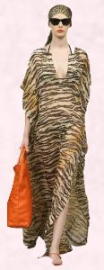 Animal Print Kaftan - Eternal Glamour from Dolce & Gabbana