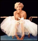 Icon Marilyn Monroe - Tulle Ballet Dress.