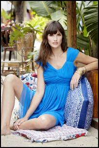 Regatta Blue Dress - Spring 2011