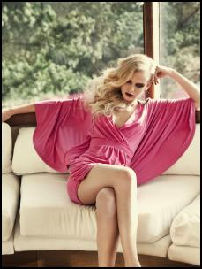 A|wear Tropicana 2: Pink Embellished Batwing Dress