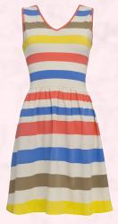 M&S Autograph Wide Striped Dress.