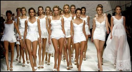 Summer 2011 Summer Whites From Dolce Gabbana.