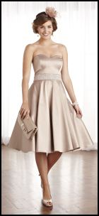 Nude Satin Prom/Wedding Occasion Dress - Debenhams 2012.