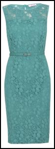 Marks & Spencer Mint Lace Dress.